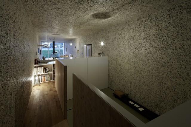 Nest House Nagoya modern-kitchen