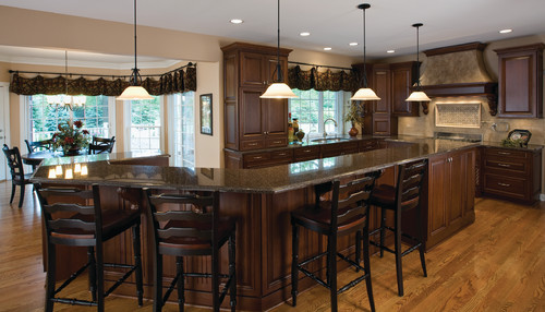 U Shaped Kitchen Islands With Built In Ranges