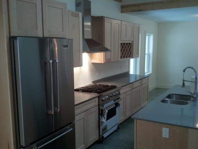 N. Leverett Rd traditional-kitchen