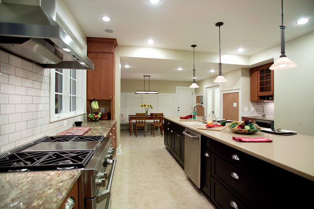 N. Quincy Street traditional-kitchen