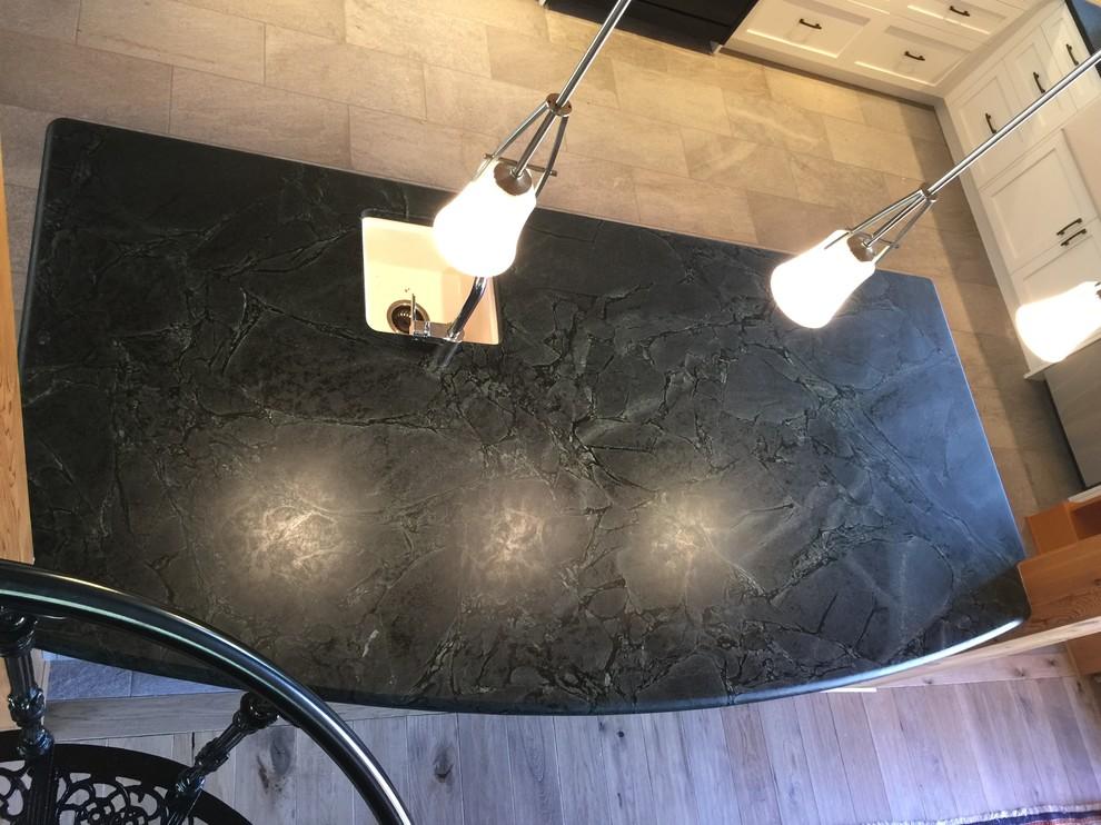 Nanoose Bay - Silver Soapstone, Oiled