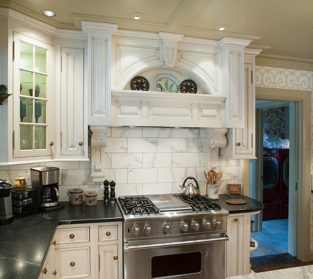 Cabinets Vantyne Traditional Kitchen Cleveland By Mullet Cabinet