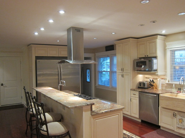 Nantucket Kitchen Cabinets Transitional Kitchen