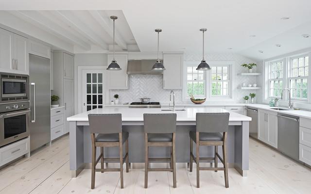 NANTUCKET MA - Grey Lady - Transitional - Kitchen - by ...