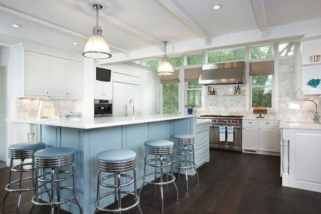 Nantucket meets mountain traditional kitchen other for Nantucket style kitchen
