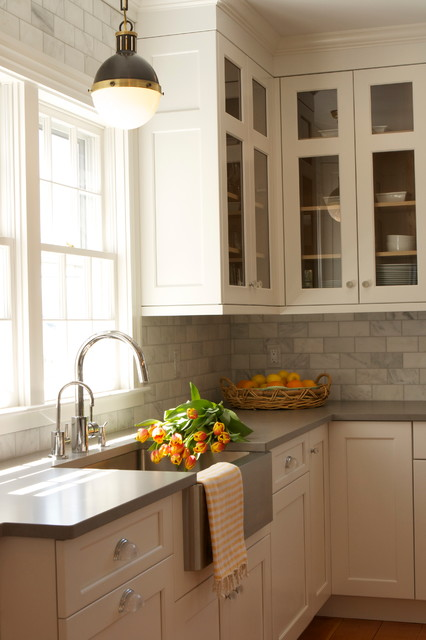 Nantucket Residence transitional-kitchen
