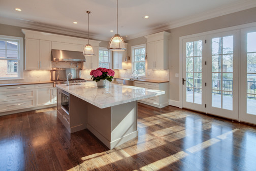 Nantucket style custom home for Nantucket style kitchen