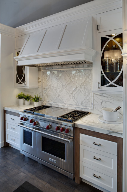 Naperville Display traditional kitchen