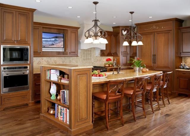 Naperville IL Traditional Kitchen Chicago By Reddington Designs