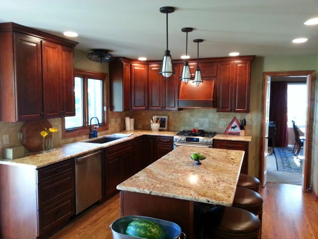 Naperville Kitchen traditional-kitchen