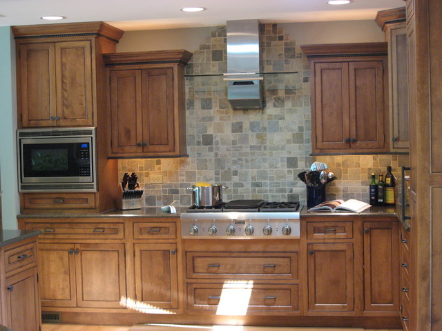 Naperville Residence traditional-kitchen