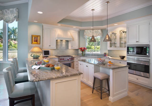 Naples Remodel Condo Beach Style Kitchen