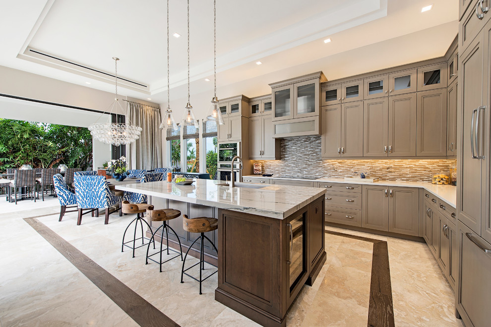 Naples Reserve Model Home Contemporary Kitchen Miami By Design Studio By Raymond