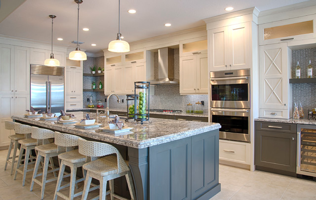 Naples Toll Brothers Home - Contemporary - Kitchen - Miami ...