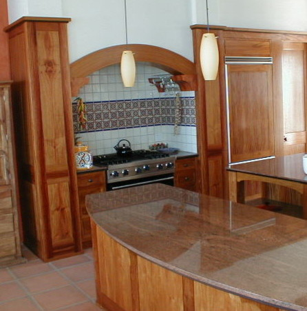 Narra cabinetry and woodwork contemporary kitchen for Door design narra