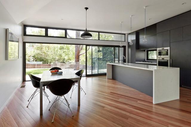 Narrabundah House contemporary-kitchen