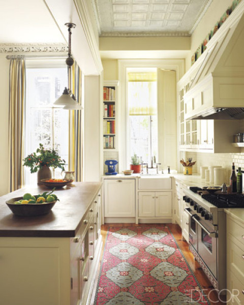 Narrow Kitchen Traditional Kitchen New York