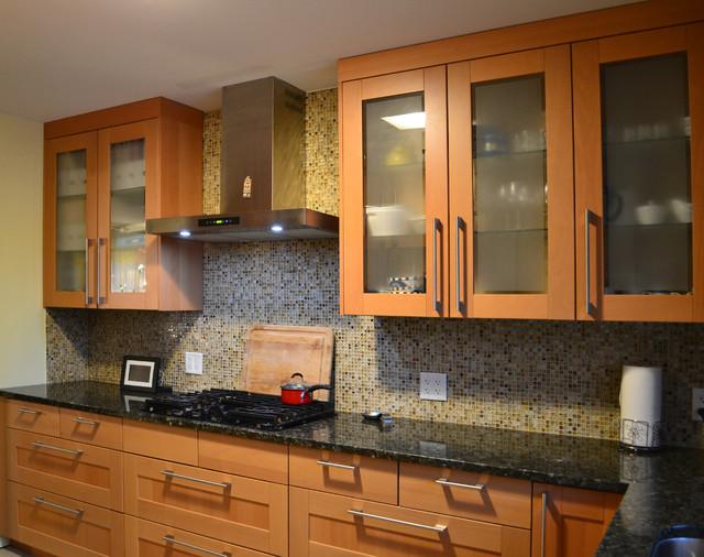Narrow kitchen - Contemporary narrow kitchen ...