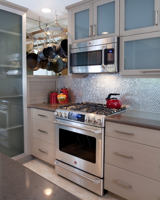 National Award Winning Small Kitchen Modern Kitchen San Diego By Cabinets By Design