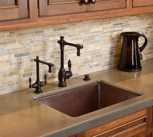 Native Trails Bistro Kitchen Sink Traditional Kitchen