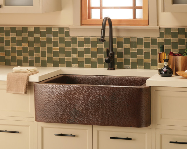 Native Trails Farmhouse Sink Antique Finish Kitchen san luis obispo by