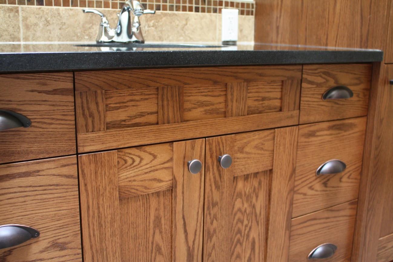 Natural Cabinet and Bathroom Design