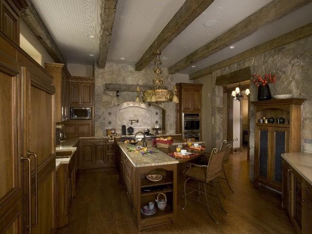 Lake Geneva Vacation House #3 traditional-kitchen