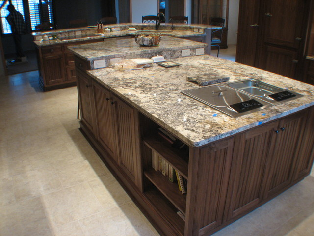 Natural Hard-Wood  Finishes traditional-kitchen