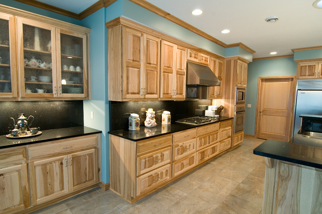 Hampton Natural Hickory Kitchen Cabinets Pictures To Pin On Pinterest
