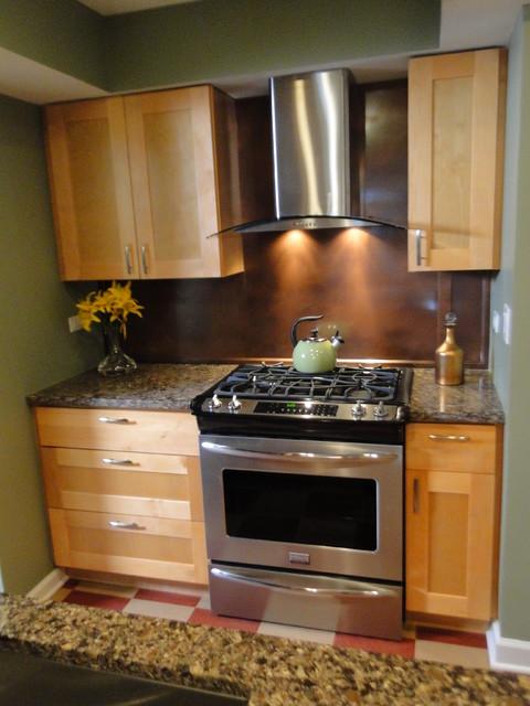 Natural Shaker Kitchen Cabinets Modern Kitchen
