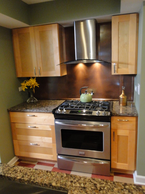 Natural Shaker Kitchen Cabinets - Modern - Kitchen - by RTA Cabinet Store