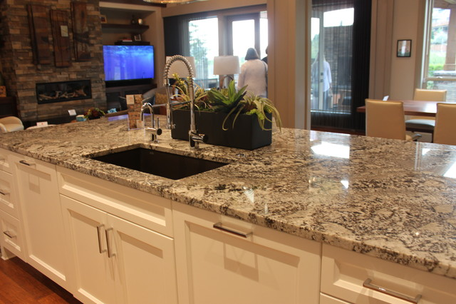 Natural Stone Countertop Kitchen Portland By Oregon
