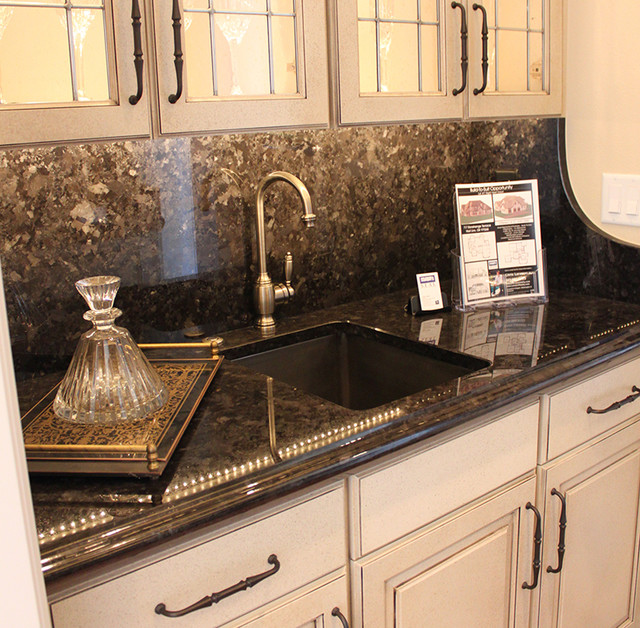 Natural Stone Countertop - Traditional - Kitchen - Portland - by ...