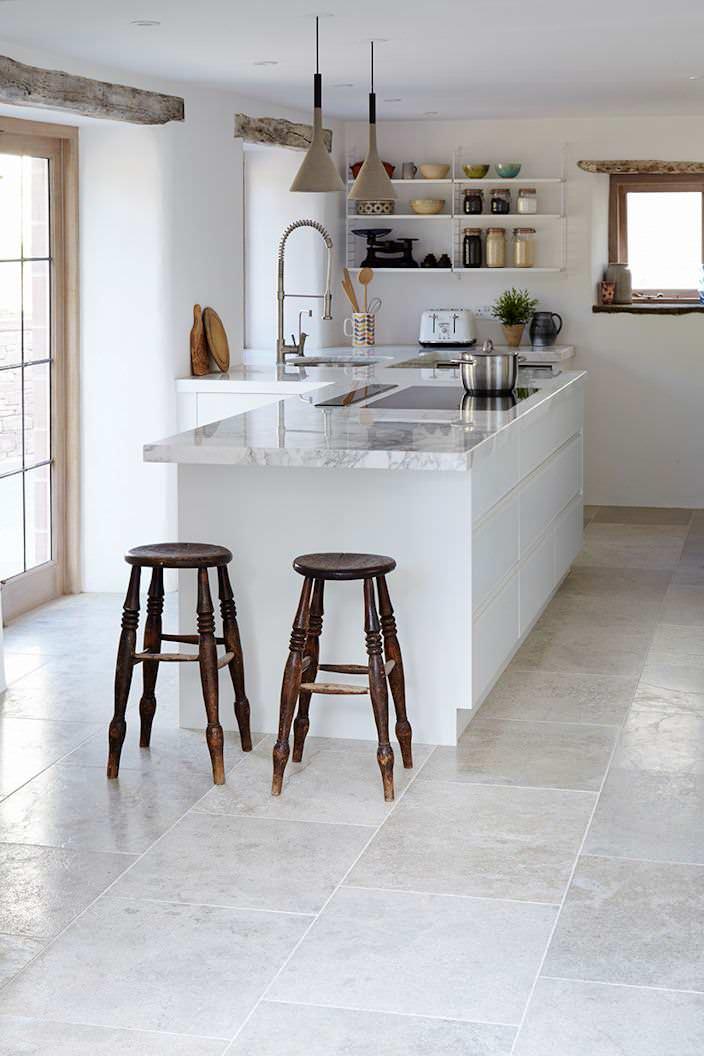 Natural Stone Flooring Houzz
