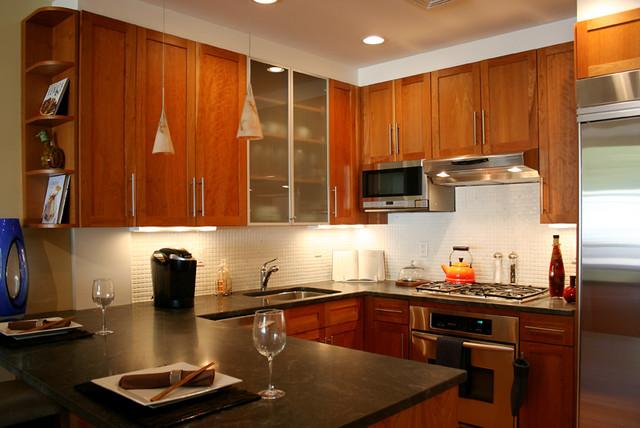 Natural Stone Kitchen Countertops contemporary-kitchen