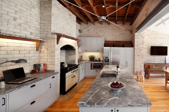 Natural Stone Kitchen Fior Di Bosco Industrial