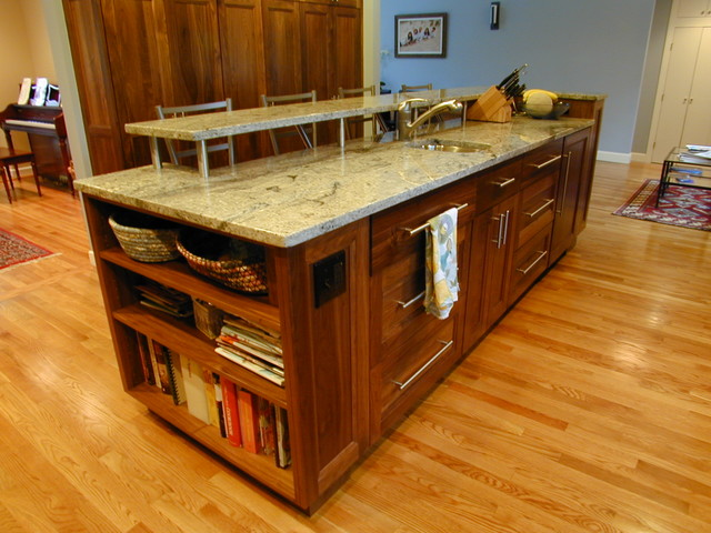 Naturally Beautiful Walnut Kitchen traditional kitchen