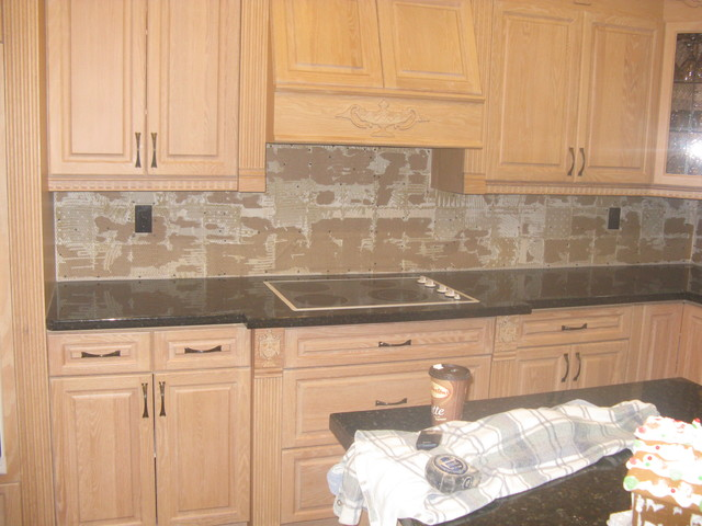 Naturals Stone Veneer Backsplashes Contemporary