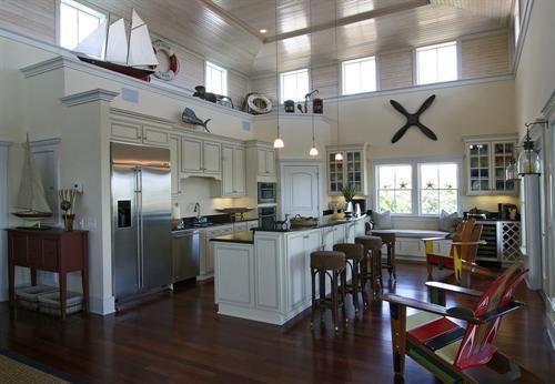 Nautical Kitchen Design Ideas ~ Nautical kitchen
