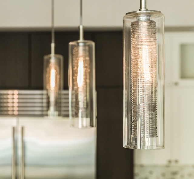 NAVA | Custom Blown Glass Kitchen Pendant Lights | Modern ...