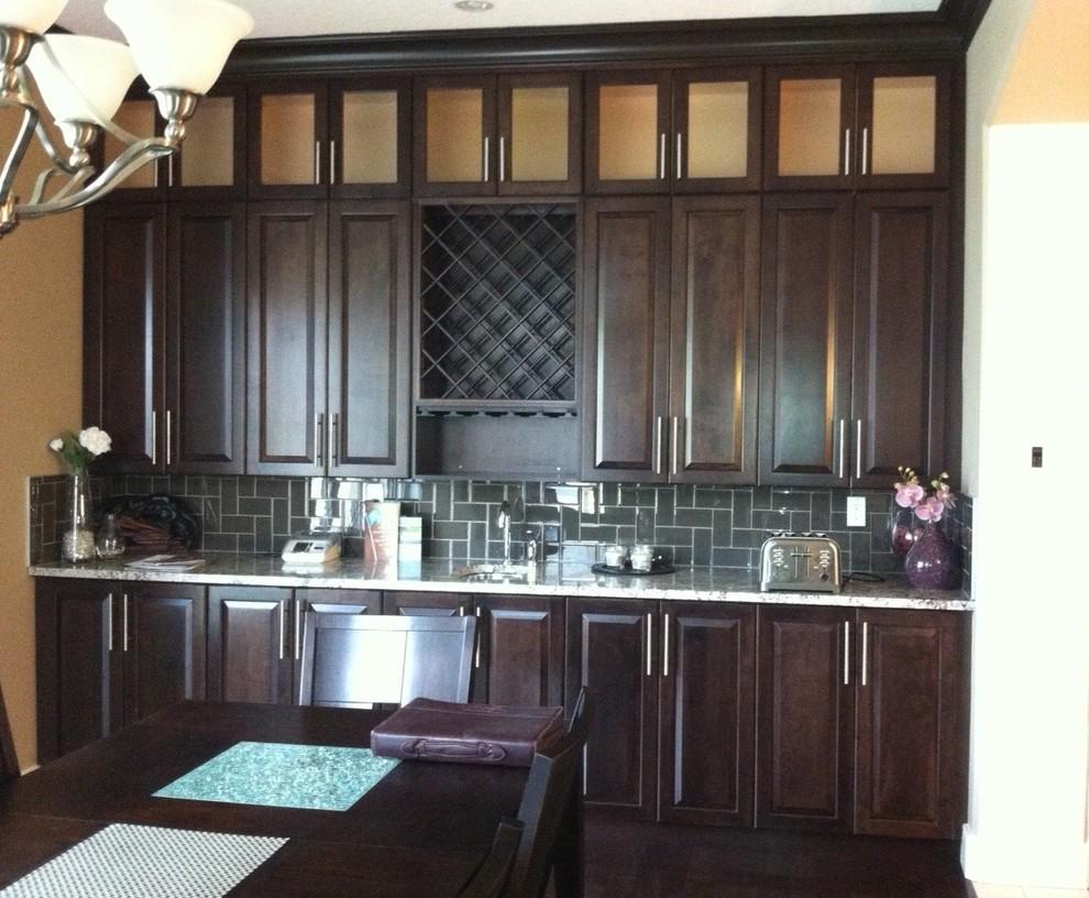 Ndk Project Traditional Kitchen Edmonton By Edmonton Kitchen Bath Cabinet Inc