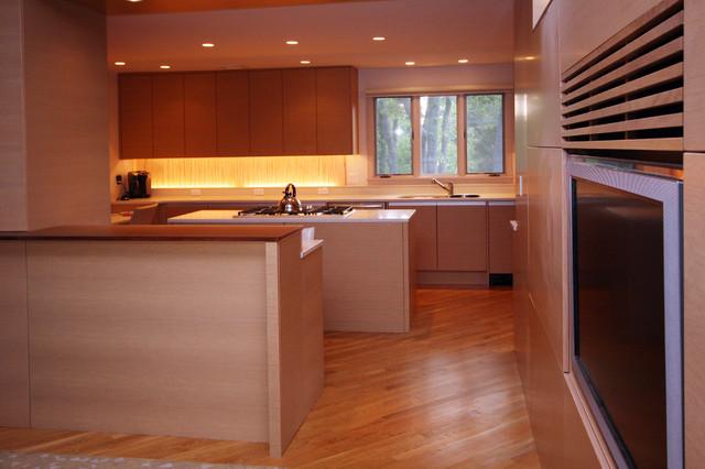 Near Puritan Road, Swampscott contemporary-kitchen