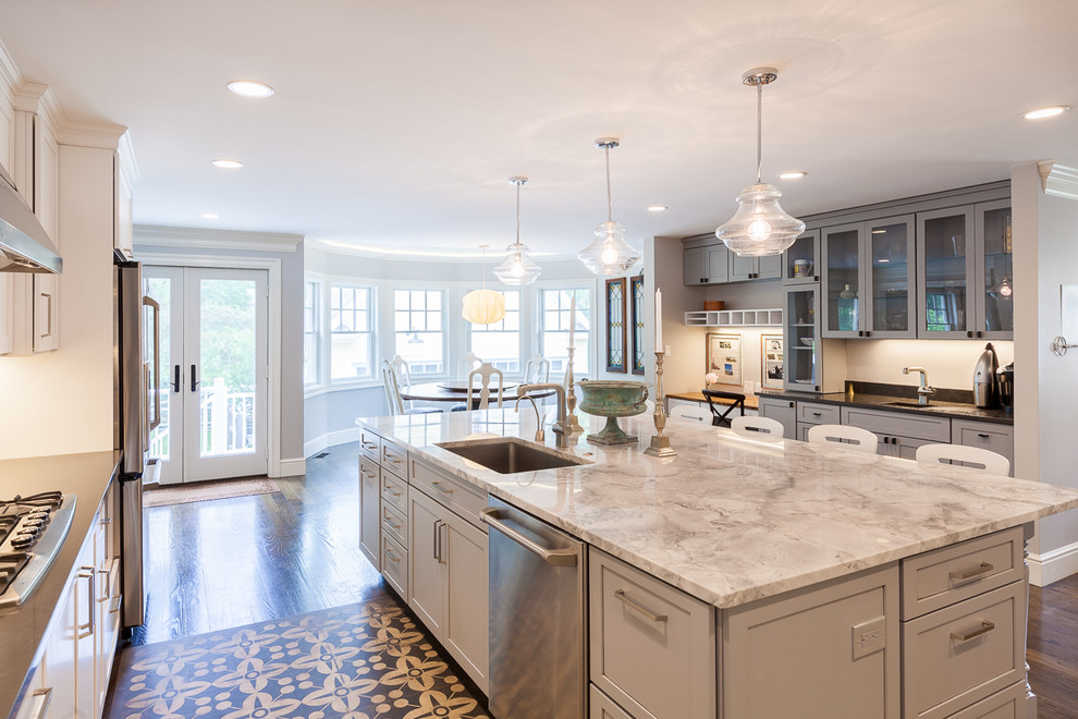 Needham Ma 1920 S Whole House Renovation Traditional Kitchen Boston By Federow Development