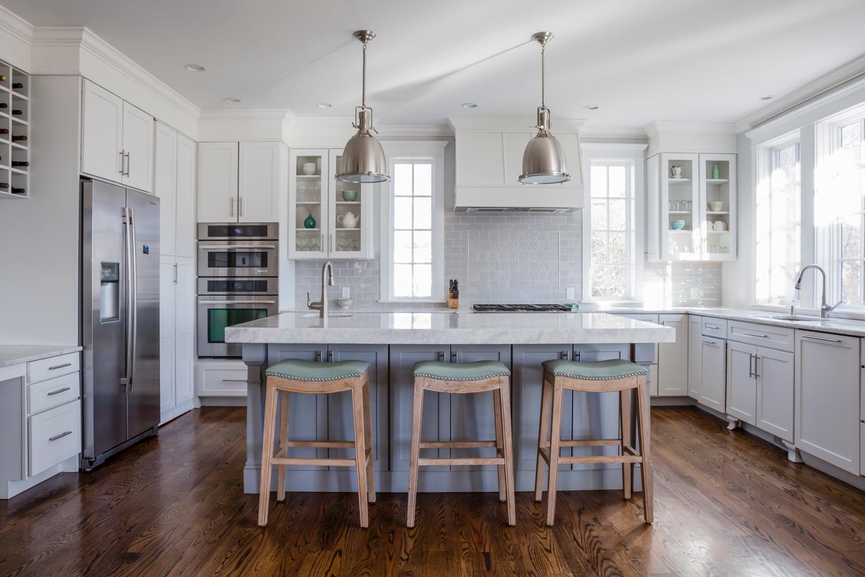 Needham, MA New Construction - Kitchen