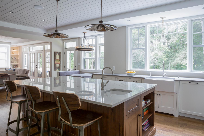 Needham Pond House Kitchen