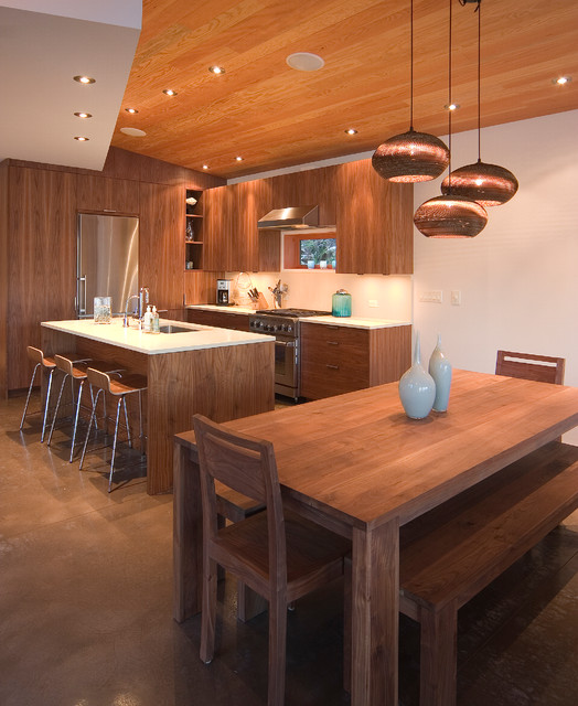 Neil Bay House contemporary-kitchen