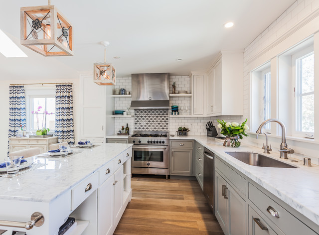 Nelson ave beach style kitchen san francisco by for Kitchen design nelson