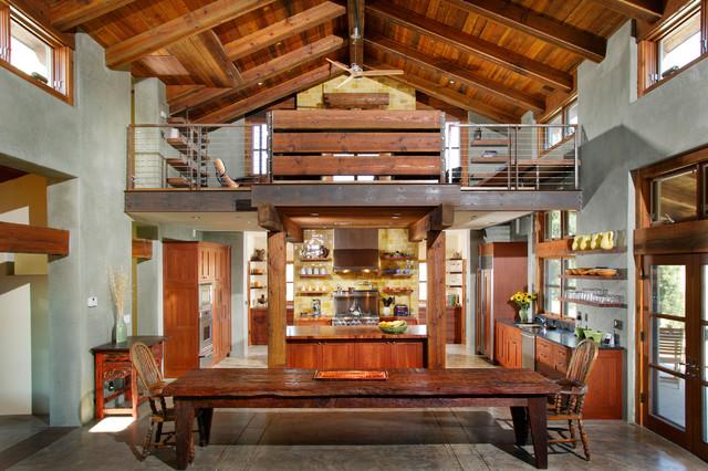 Neo Farmhouse farmhouse-kitchen