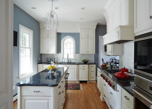 Кухня в стиле неоклассика: фото дизайна интерьеров)