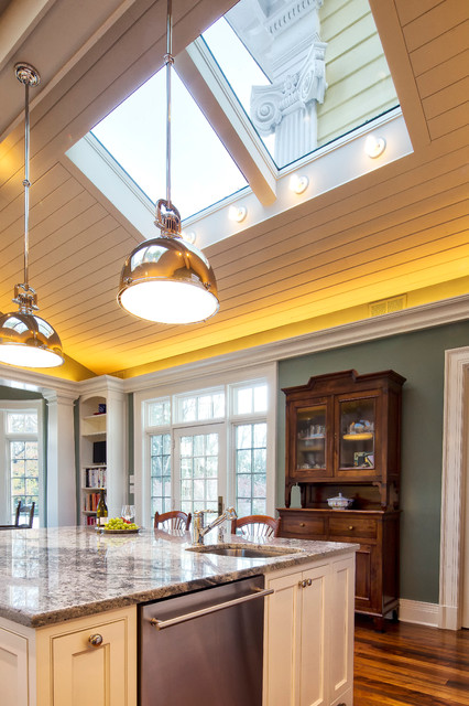 kitchen and lighting neoclassical home traditional kitchen new york by 2176